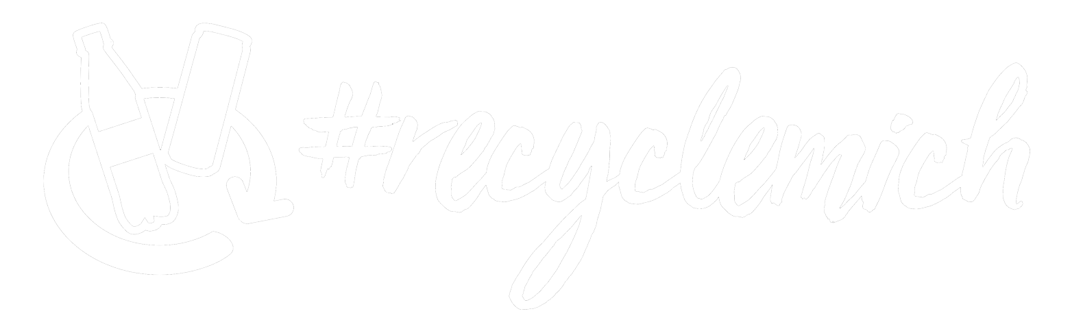 RecycleMich Logo Negative