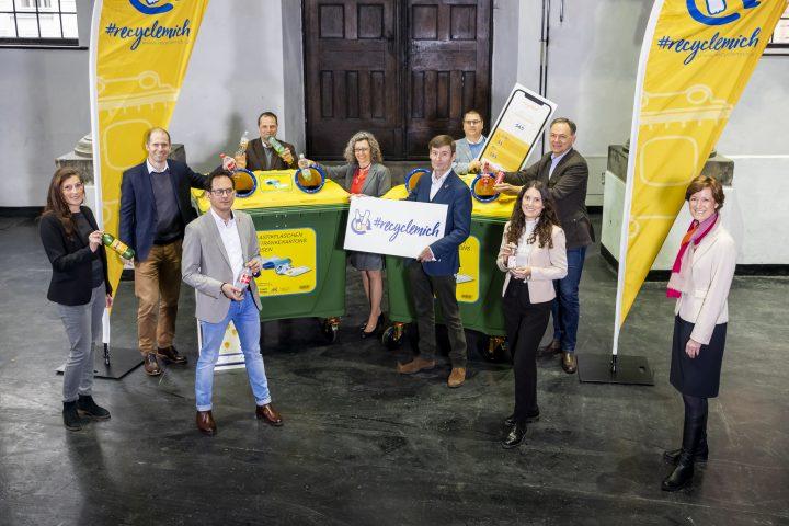 Startschuss für die RecycleMich-App in Wien