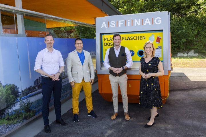 RecycleMich-Initiative startet mit ASFINAG Pilotprojekt an drei Rastplätzen