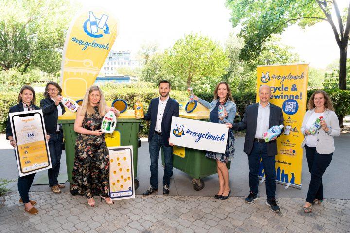 RecycleMich-Initiative gewinnt Henkel als ersten Non-Food-Partner